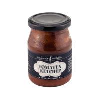Tomaten-Ketchup im Pfandglas